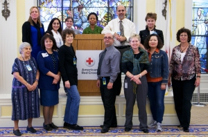2013 program visiting the American Red Cross