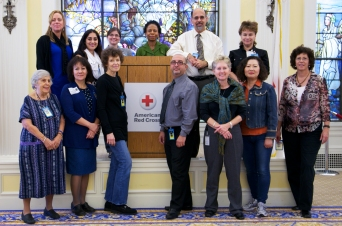 Group at American Red Cross