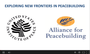 Exploring New Frontiers in Peacebuilding   YouTube