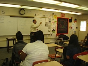 Engaging students at Page High School