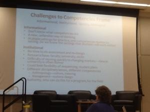 Mara Schoeny's presentation on compentencies