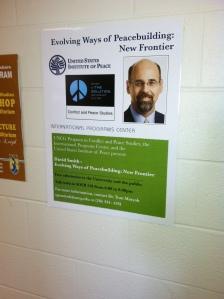Poster for UNC/Greensboro talk