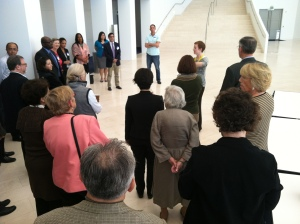 Visiting USIP during the 2nd National Community College Peacebuilding Seminar