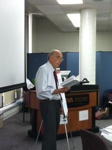 Colman McCarthy  preaching peace