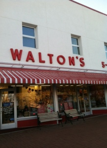 Walton's Five and Dime, now a museum