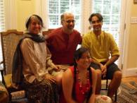 We spent time with our Indian family for wedding in July