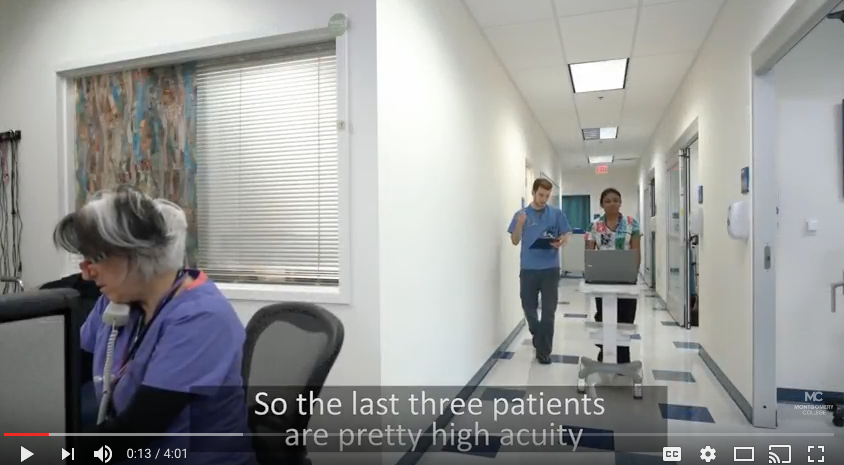 Incivility in Nursing Video Produced by Montgomery College David